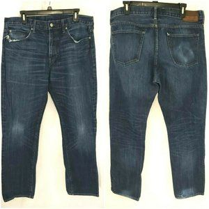 J Crew Style 1040 Straight Jeans Size 36x32